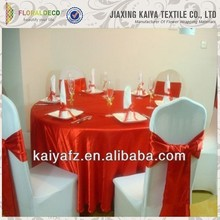 China latest produce high quality fashion useful red birthday table cloth