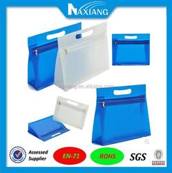 Alibaba China Makeup Sets PVC Zipper Paper Bag PVC Cosmetic Bag