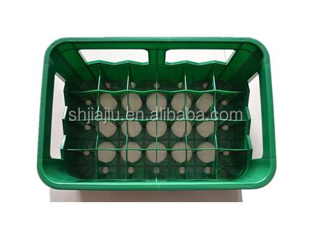 caisse en plastique pour bouteilles