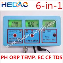 2015 Best China Supplier Bench pH/ORP/EC/CF/TDS Temp Meter Digital PH Meter