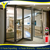 Australian standards folding Door&bifold doors with AS2047 bifold patio doors design doors aluminum glass folding door