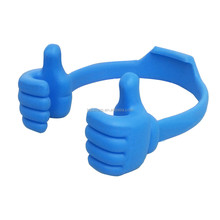 2015 elastic Ok stand thumb mobile phone holder, for all smartphone and tablet PC