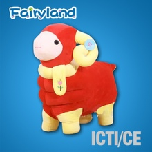 ICTI and Sedex audit new design EN71 plush toy sheep toys for promotion