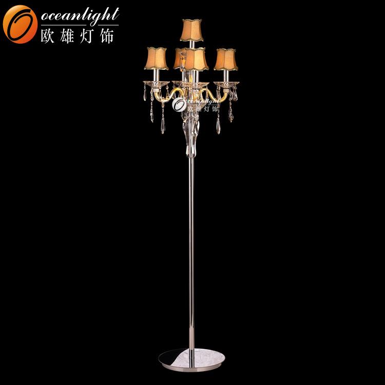 floor lamp omf00105 buy 2015 hot crystal chandelier floor lamp. Black Bedroom Furniture Sets. Home Design Ideas