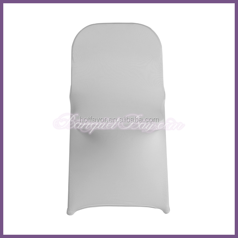 Light Grey Cheap Good Quality Folding Chair Covers For