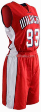 2015 OEM New Style Basketball Jersey Sport Wear/Sublimation Plain Basketball Uniform Wholesale