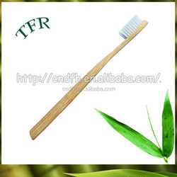 Bamboo handle oral care Personalized toothbrush with name