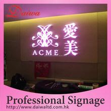 Front-lit LED Stainless-Steel Letters Handbag Shop Sign LED SIGN