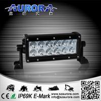 waterproof AURORA 6inch LED light,jeeps