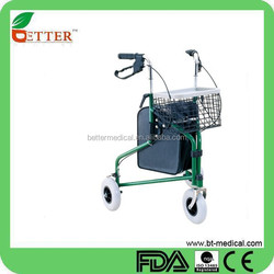 Steel Delta With Basket /brakes/meal plate--3wheels