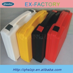 China manufacturer Injection molded hard plastic case with handle