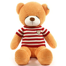 Giant Plush toy Squinting Bear Stuffed toy