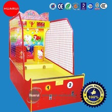 2015 New pattern Indoor Simulation Basketball throw Game machines