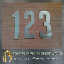 China manufacture metal steel product custom letter laser cutting home decoration