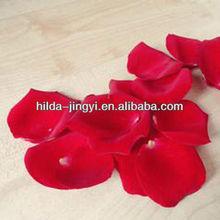 Dried scented rose petals as herbal medicine