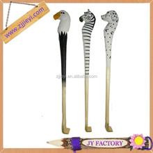 Promotion nouveau design de longues chaussures corne sculpté à la main bois chausse - pied