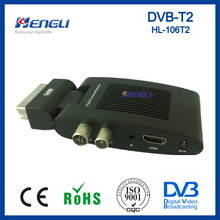 high quality receiver H.264 set top box mpeg4 mini hd dvb t2