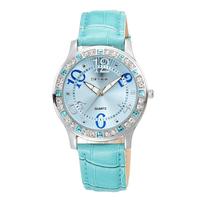 japan quartz watch leather strap vogue wristwatch hot school girl