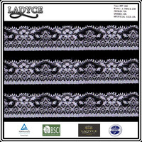 neoprene ripstop nylon fabric sale elastic knitted voile lace trimming