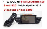 car manufacturer Support original car amplifier Fiat Abarth 500 radio