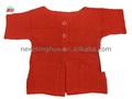 2015 de moda suéter de punto y para los niños, cuello redondo manga larga chaqueta de punto
