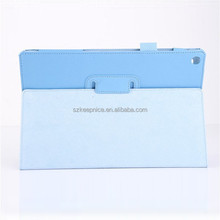 New litchi stria Flip leather cover stand tablet case for Sony Tablet Z2