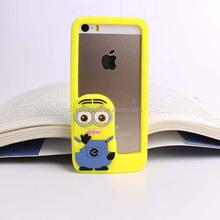 for ipad mini silicone cover case , for ipad 2 3 4 3d silicone cover case , for ipad mini 2 3 4 despicable me silicone case