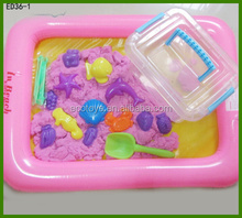 2015 Kids educational toy magic dynamic space sand coloured sand model sand