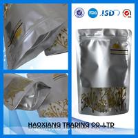 food grade alumiunm foil bag blacnk seed foil bag