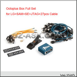Octoplus Box for LG for Samsung+SE+JTAG+27 pcs cable octoplus-box for mobile