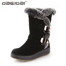 sexy luxury trendy ladies winter boots snow russia women winter boots for women