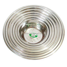wholesale importer of chinese goods deep metal dinner plates