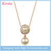 Pearl necklace jewelry description rose gold imitation jewellery drop pearl pendant necklace