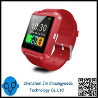 Bluetooth Smart Watch U8 Watch Wrist Smartwatch for iPhone 4 4S 5 5S 6 6 plus Samsung S4 S5 Note 2 Note 3 HTC Android Phone