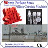 Automatic Spray Lliquid Filling and Capping Machine China Supplier/0086-18321225863