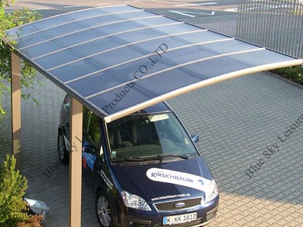 Fiberglass Portable Garage : Aluminum frame glass roof car tent for parking buy