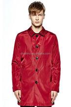 2015 Fashion Styles Men's Slim Fit Trench Coat