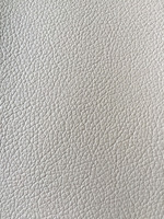 0.7mm pvc faux leather for car seats with knitted from Jiangyin Longsheng