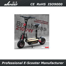 2200W electric scooter sports speed fast folding kick scooter with U5 support light