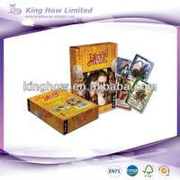 large print playing cards organizer