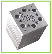 UPVC PVC steel profile extrusion tooling with die head heater