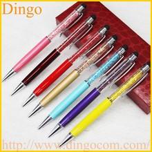 customized logo crystal pen/ball pen/ballpoint pen,advertising crystal pen