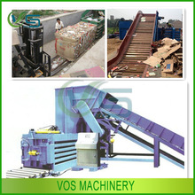 Practical used clothes and textile compress baler machine/carton compress baler machine for sale