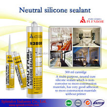 Neutral Silicone Sealant supplier/ silicone sealant for laminated wood/ food grade silicone sealant
