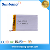 China battery factory 8000mah 3.7v li-ion polymer battery for power