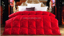 Fashion goose down quilt/ red goose quilts