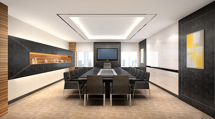 중국 현대 새로운 디자인 럭셔리 회의 테이블 3 메터 사무실 회의 ...