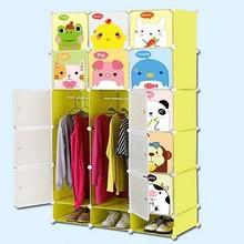 De dibujos animados de moda diseño de armario ropero estante de la ropa( fh- al0752- 15i)