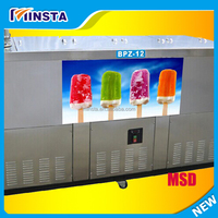 Multi flavors commercial popsicle ice lolly making machine