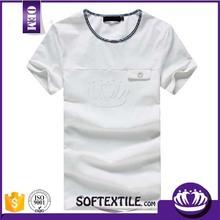 Cheap wholesale plain white blank t shirt